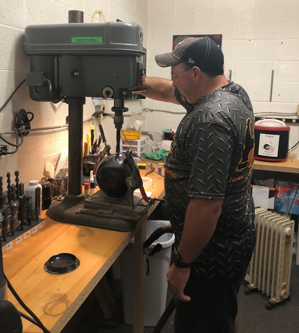 pro shop ball drilling
