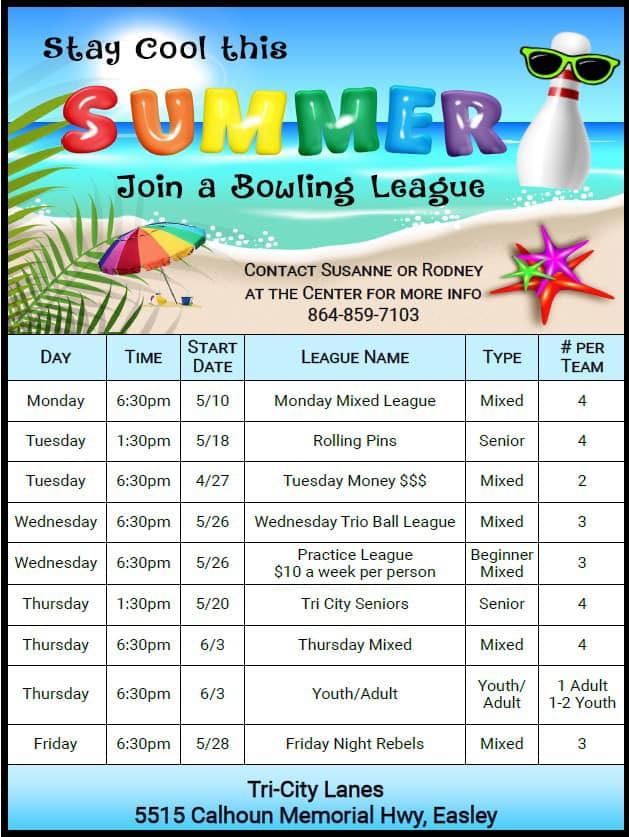 summer league schedule
